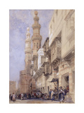 The Gate of Metwaley, Cairo, 1838 Giclee Print by David Roberts