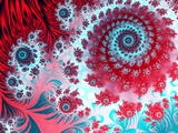 Julia Fractal Reproduction photographique par Laguna Design