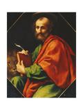 Saint Mark Giclée-tryk af Carlo Dolci