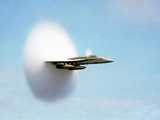 Aircraft Sonic Boom Cloud Photographic Print by u.s. Department of Energy
