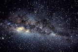 Optical Image of the Milky Way In the Night Sky Photographic Print by Dr. Fred Espenak