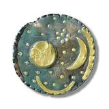 Nebra Sky Disk, Bronze Age Fotografie-Druck von Jose Antonio