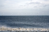 Offshore Wind Farm Reproduction photographique par Victor De Schwanberg