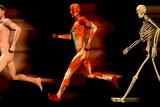 Running Man Reproduction photographique par Christian Darkin