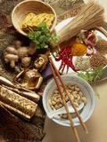 Ingredients for Cooking Thai Food Valokuvavedos tekijänä Erika Craddock
