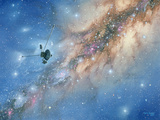 Voyager Spacecraft Photographic Print by Chris Butler