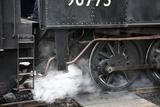 Locomotive à vapeur Reproduction photographique par Victor De Schwanberg