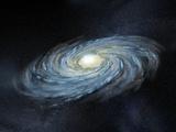 Milky Way Galaxy, Artwork Premium-Fotodruck von Henning Dalhoff