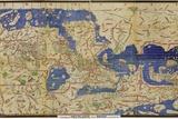 Al-Idrisi's World Map, 1154 Fotografie-Druck von Library of Congress