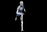 Cyborg Running Reproduction photographique par Christian Darkin