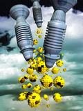 Biological Warfare Photographic Print by Victor Habbick