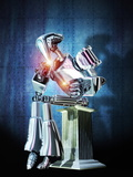 Robot Intelligence Photographic Print by Victor Habbick