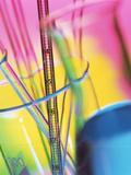 Glassware Fotografisk tryk af Tek Image