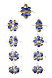 5g Electron Orbitals Reproduction photographique par Dr. Mark J.