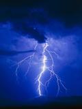 Lightning In Arizona, USA Fotografie-Druck von Keith Kent