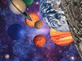 Le système solaire Reproduction photographique par Mehau Kulyk
