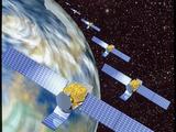 Communication Satellites Fotografie-Druck von Mehau Kulyk