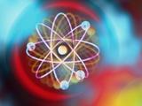 Art Representing a Beryllium Atom Reproduction photographique par Mehau Kulyk