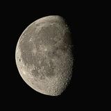 Waning Gibbous Moon Fotografie-Druck von Eckhard Slawik