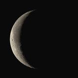 Waning Crescent Moon Fotografie-Druck von Eckhard Slawik