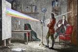 Newton's Optics Lámina fotográfica por Sheila Terry