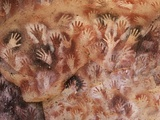 Cave of the Hands, Argentina Fotoprint van Javier Trueba