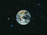 The Earth Seen From Apollo 17 Reproduction photographique