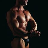Body Builder Reproduction photographique par Tony McConnell