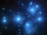 Pleiades Star Cluster (M45) Premium-Fotodruck