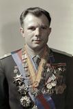 Yuri Gagarin, Soviet Cosmonaut Photographic Print by Ria Novosti
