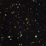 Hubble Ultra Deep Field Galaxies Stretched Canvas Print
