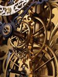 Internal Gears Within a Clock Fotografisk trykk av David Parker