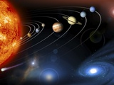 Solar System Planets Fotografie-Druck