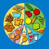 Balanced Diet Fotografisk tryk af David Nicholls