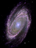 Spiral Galaxy M81, Composite Image Photographic Print