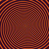Abstract Computer Artwork of a Spiral Fotografisk tryk af David Parker