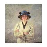 Girl in a White Dress Gicléetryck av Sir William Orpen