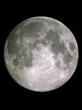 Volle maan Fotoprint van John Sanford