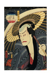 The Actor Ichikawa Danjuro VII (1791-1959) Giclee Print by Utagawa Kunisada