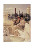 Whispering Noon, 1896 Giclee Print by Sir Lawrence Alma-Tadema