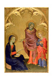 Christ Discovered in the Temple Giclee Print by Simone Martini