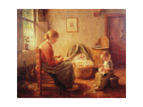 The New Baby Giclee Print by Evert Pieters