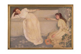 Symphony in White, No. III, 1865-67 Reproduction procédé giclée par James Abbott McNeill Whistler