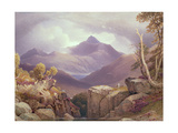 Ben Lomond Giclee Print by George Fennel Robson