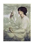 The Day Dream, 19th Century Giclee-trykk av Dante Gabriel Rossetti