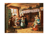 The School Room Giclee Print by Alfred Rankley