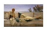 Pleading, 1876 Gicléedruk van Sir Lawrence Alma-Tadema