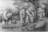 The Beekeepers, 'If You Know Where the Treasure Is, You Can Rob It', C.1567-68 Fotografie-Druck von Pieter Bruegel the Elder