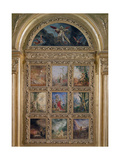 Humanity: the Golden Age Depicting Three Scenes from the Lives of Adam and Eve; the Silver Age… Giclee Print by Gustave Moreau
