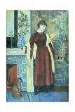 At Home: a Portrait, 1872 Impressão giclée por Walter Crane